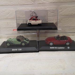 Minichamps - Shuco - 1:43 - BMW Isetta - BMW 328 - BMW Z3 M Roadster
