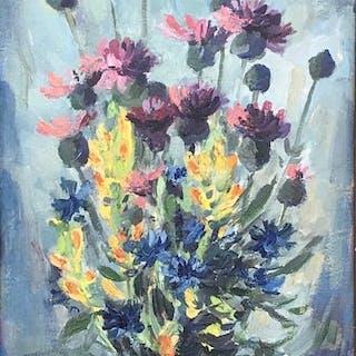 Alois Moravec (1899-1987) - Blumenstrauss
