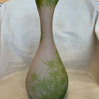 Emile Gallé - Etablissements Gallé - Vase, 'Thistles'