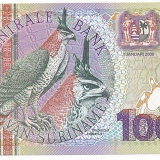 Suriname - 10.000 Gulden 2000 - Pick 153