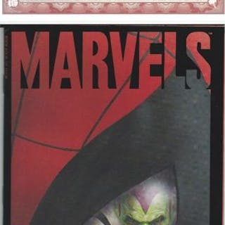Marvel - MARVELS BOOK FOUR signed by STAN LEE with Excelsior COA - EO (1994)