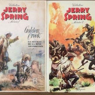 Jerry Spring T1 + T2 - Golden Creek + Yucca Ranch - 2x C - EO/Ré - (1955/1956)