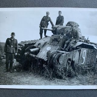 Deutschland - Album, Foto, Meine Dienstzeit Panzer Technik viele Foto Postkarten