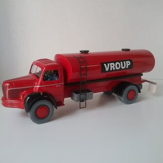 Spirou et Fantasio - Camion Bierlet vroup rouge...