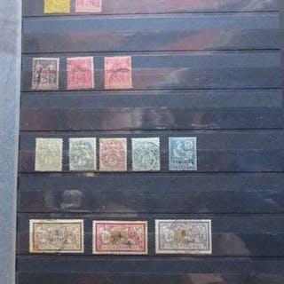 Colonie Française - Sélection de timbres