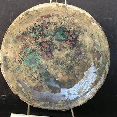 Römisches Reich Bronze Großer Römischer Spiegel - 1×15×15 cm - (1)