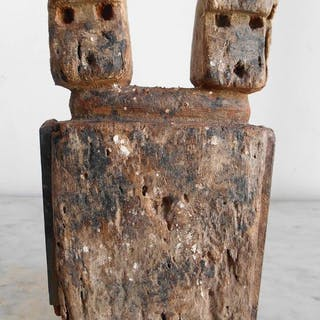 Aklama fetish of the Ada Adan ethnic group. 20cm - Wood - Ghana