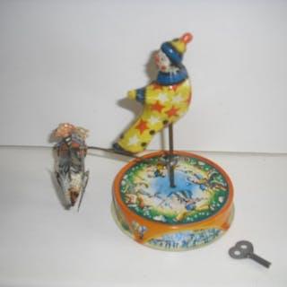 Blömer & Schuler - zirkus clown mit pferd - 1950-1959 - Deutschland