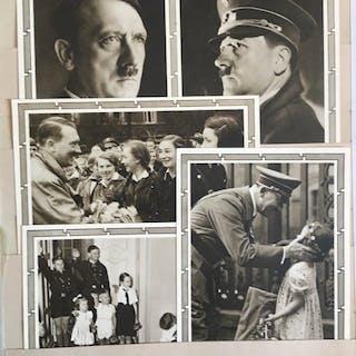 Deutsches Reich 1945/1932 - Große Sammlung mit 160 Propagandakarten