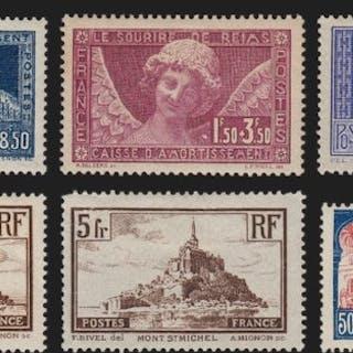 France 1929/1930 - Lot Caisse d'Amortissement
