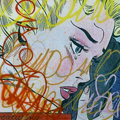 Dillon Boy - Graffiti Girl Street Art / You Stole My