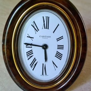 """Reloj de sobremesa - Cartier Paris """"Vendome"""" Swiss Made..."""