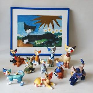 Rosina Wachtmeister- Goebel - Figurine(s) (11) - Porcelain
