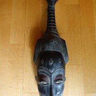 Masken (1) - Glasperlen, Holz - Guro-Baule - Elfenbeinküste