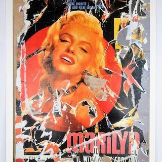 Mimmo Rotella - Marilyn il Mito (Marilyn the Myth)