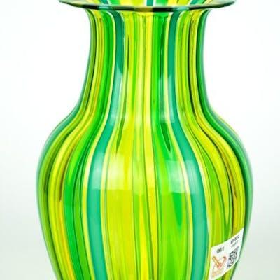 Gabriele Urban (Murano) - Vase in multicolored glass dog - Glass