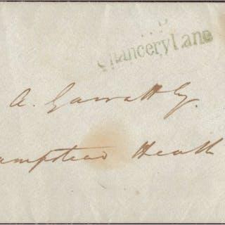 Gran Bretagna 1840 - Cover -1 d.black -29 giugno