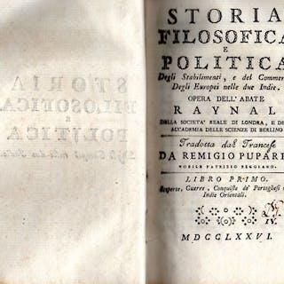Guillaume-Thomas Raynal - Storia filosofica e politica...