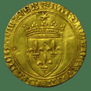 France - Charles VIII (1483-1498) - Ecu d'or au soleil (Saint-Lô) - Or