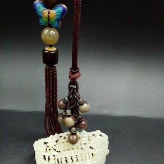 Pendant (1) - Jade - China - Late 20th century
