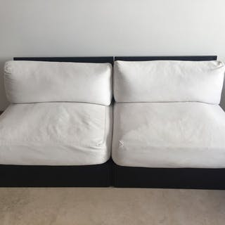 B&B Italia - Sectional sofa / 2 Armchairs