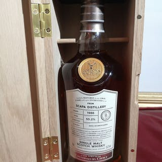 Scapa 1986 33 years old refill bourbon barrel - Gordon & McPhail - 0.7 Litres
