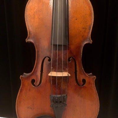 Rare German violin with stunning Bird-Eye Maple back! - Violin - Germany - 1900