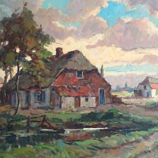 Cornelis De Kort 1910 1996 Landschap Current Sales