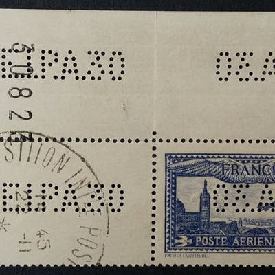 France 1930 - 1 f. 50 outremer, EIPA 30 - Yvert Poste aérienne 6c