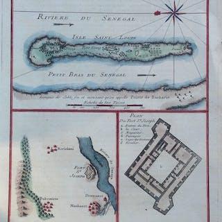 Africa, Senegal; Nichlas Bellin  - Partie De L'Isle De Sor