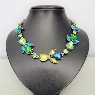 Oscar De La Renta - Crystal Necklace