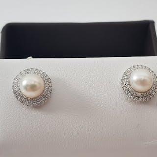 c31707c0f2a9f earrings pearl | Barnebys