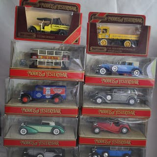 "Matchbox - 1:48 - Lot de 10 maquettes Matchbox ""Models of Yesteryear"""