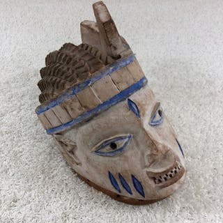 Mask - Wood - Igbo - Africa