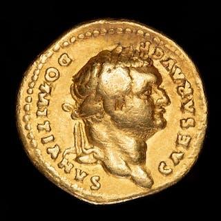 Imperio Romano - Aureus -Domitian as Caesar (AD 69-79)