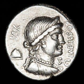 Repubblica romana - Denarius - L