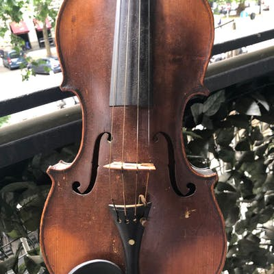 Unlabelled (Repaired 1972) Maybe older - Violin - 1972