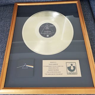 Pink Floyd - The Dark Side of the Moon Presented to David...