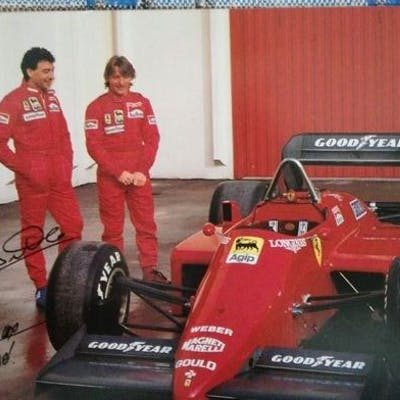 Ferrari - Formula Uno - Michele Alboreto / Rene Arnoux...