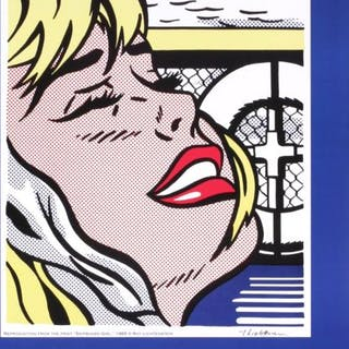 Roy Lichtenstein- Shipboard Girl