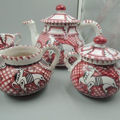 Larce Orvieto - Servizio da tè - Ceramica