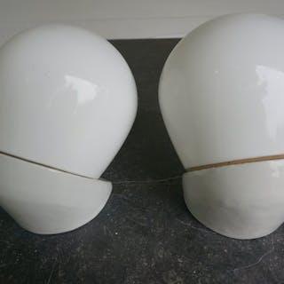 Wilhelm Wagenfeld - Lindner - Bauhaus wall lamps (2)