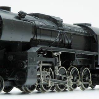 Liliput H0 - 52 14 - Steam locomotive with tender - Series 55 - CFL