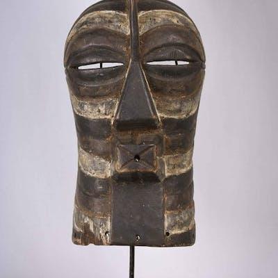 Mask - Wood - Kifwebe - Songye - Congo DRC