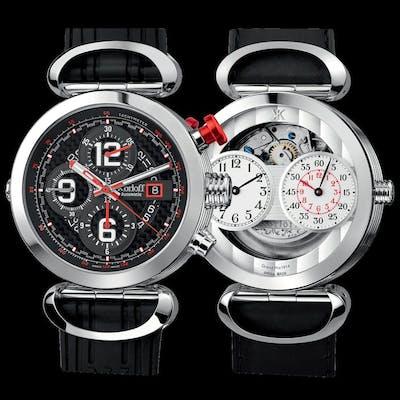 Korloff - Reversible Grand Prix Automatic Chronograph...
