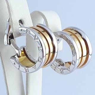 Bvlgari - 18 kt. White gold, Yellow gold - B.Zero1 Earring