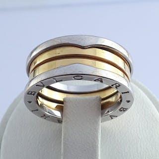 Bvlgari - 18 kt. White gold, Yellow gold - B.Zero1 Ring