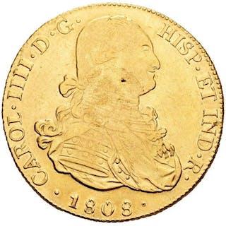 España - 8 escudos -Carlos IV (1788-1808)