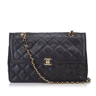 bbc007642 Chanel - Lambskin Matelasse Flap Shoulder Bag Shoulder bag