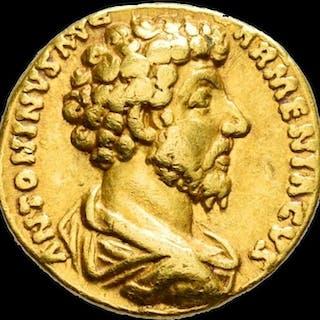 Imperio Romano - Aureus - Marcus Aurelius (AD 161-180)